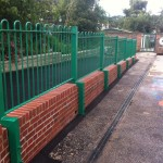 Metal Railings, School, Bradford