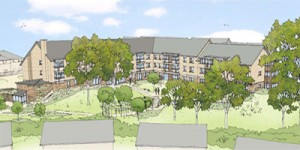 Artists impression of Extra Care Housing