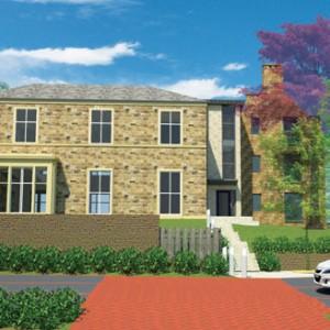 Residential landscaping, Water Lane, York