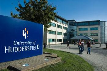 University of Huddersfield landscaping