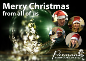 Merry Christmas from Paxman Landscapes