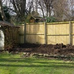 domestic garden makeover before 2
