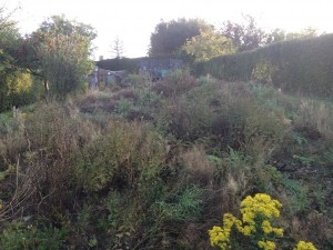 Lepton Huddersfield Before | Private Garden Landscaping