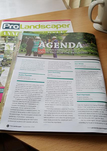 ProLandscaper Magazine TVGardening
