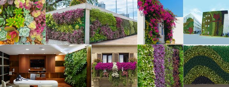 Wonderwall vertical planters