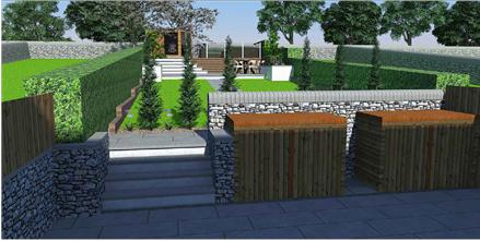 Holmfirth split level design and build