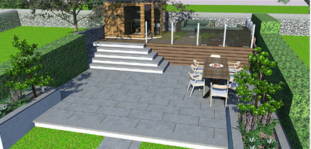 Holmfirth split level design and build 3